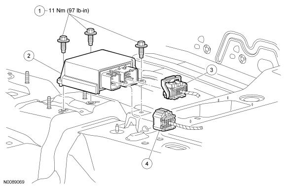 Ford Focus Service Manual :: Restraints Control Module (RCM) :: Restraints  ControlFord Focus