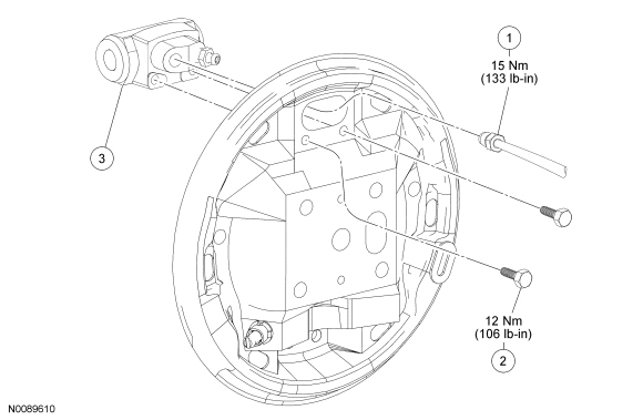 Ford Focus Service Manual Wheel Cylinder Drum Brakes