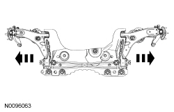 Ford Focus Service Manual :: Camber and Caster Adjustment