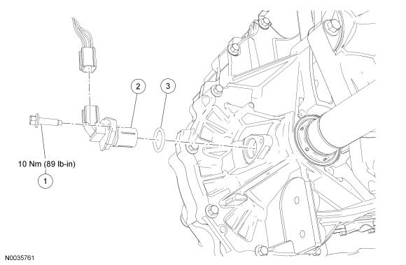 Ford Focus Service Manual Output Shaft Speed Oss Sensor